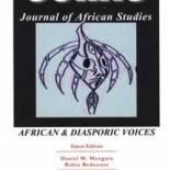 SORAC JAS Volume 2 - African & Diasporic Voices